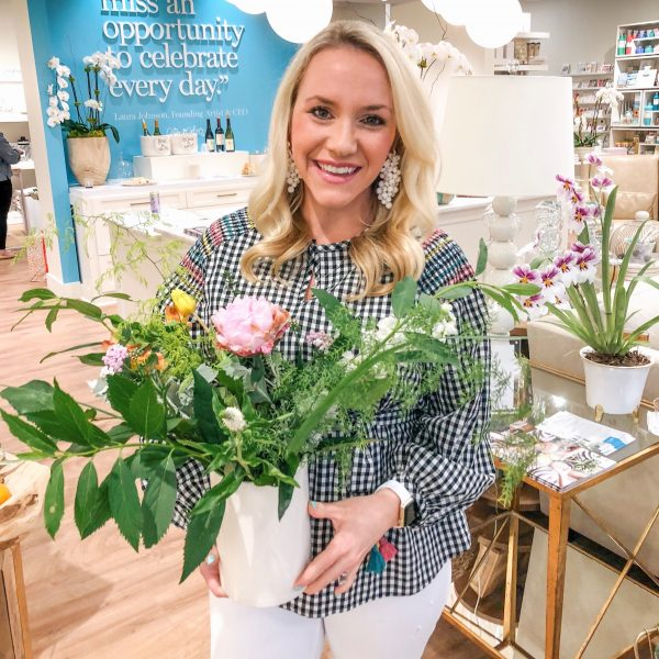 Coton Colors Flower Arrangement Class